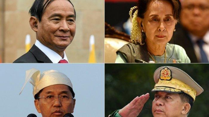 Ada China dan Rusia, Pemimpin Junta Militer Myanmar Ngaku Siap Terima Sanksi dan Isolasi Dunia
