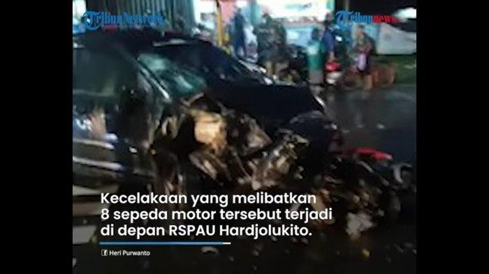 Ayah yang Tak Enak Badan Minta Anak 13 Tahun Ganti Menyetir, 8 Motor Diseruduk