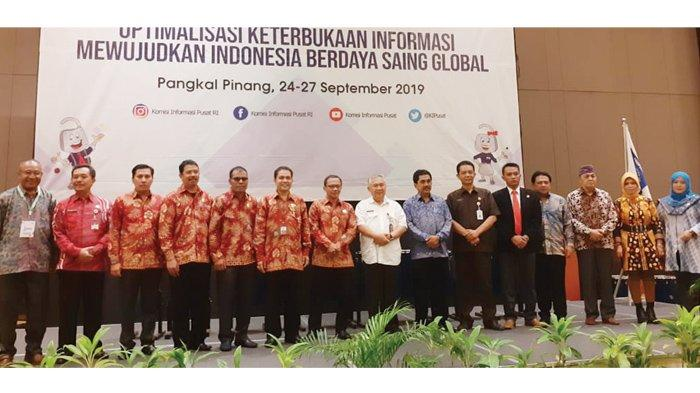 Bangka Belitung Jadi Tuan Rumah Rakornas ke-10 Komisi Informasi