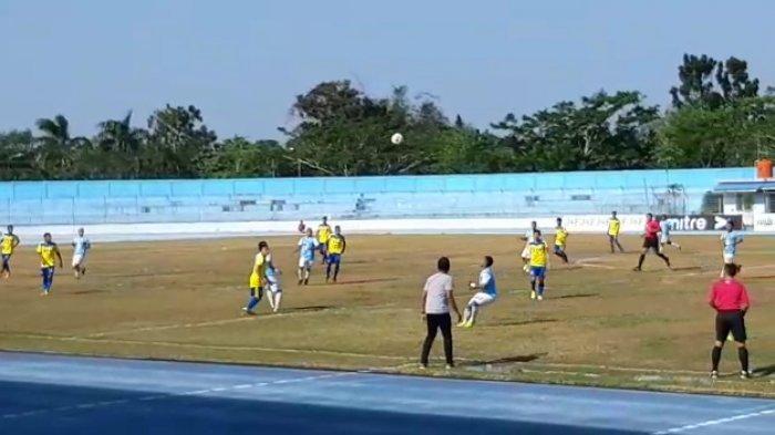 Hasil Babak Pertama Babel United FC Vs Cilegon United, Tuan Rumah Unggul 1-0