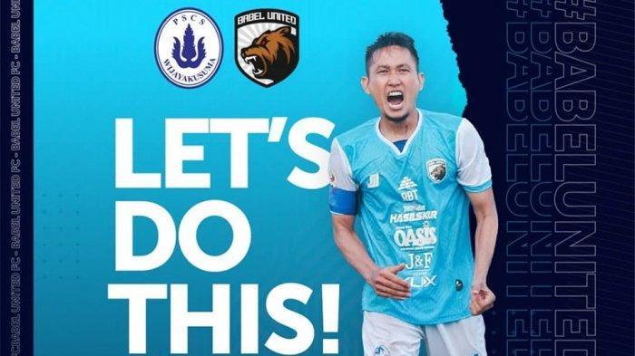 LIVE TV One, Saksikan Perjuangan Babel United FC VS PSCS Cilacap Sore Ini