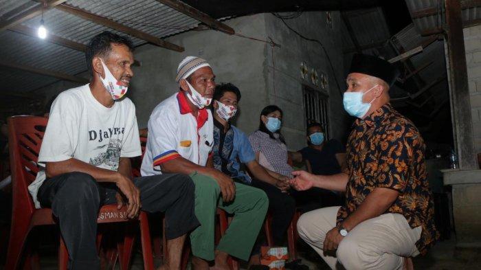 Serap Aspirasi Warga, H Badri Syamsu Fokus Perbaiki Infrastruktur