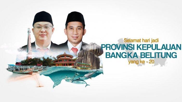 Hari Jadi Provinsi Kepulauan Bangka Belitung ke-20, Markus-Badri Ajak Warga Membangun Daerah