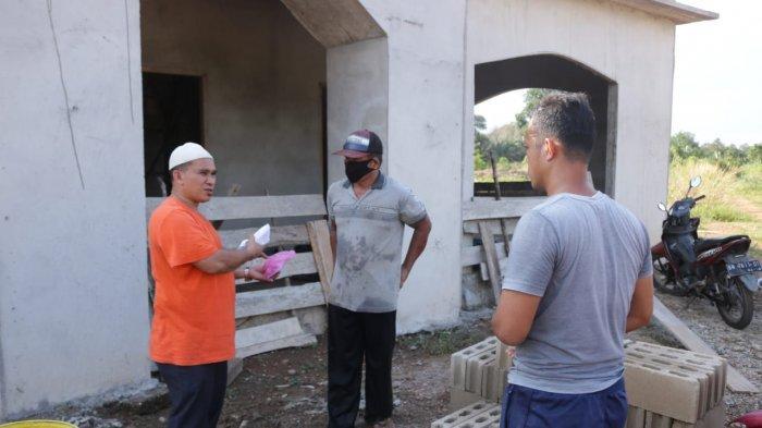 Kunjungi Kecamatan Kelapa, H Badri Syamsu Bantu Pembangunan Masjid
