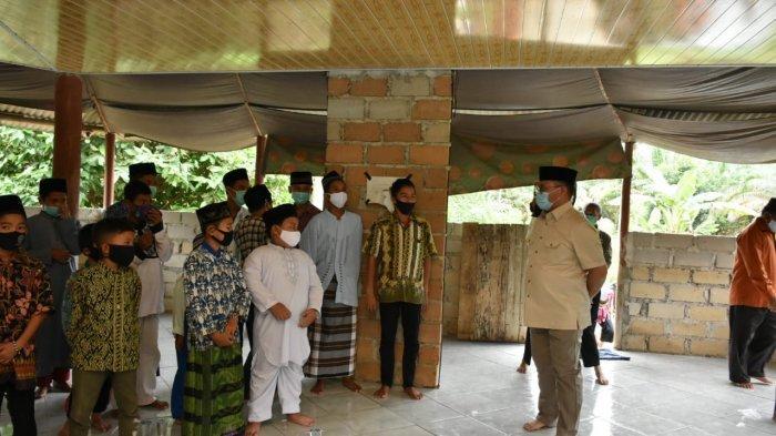 Gubernur Bangka Belitung Erzaldi Tinjau Pembangunan Pondok Pesantren Miftahussalam