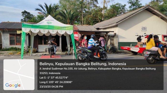 TDM Belinyu Bagi-bagi Sembako dan Masker untuk Warga Sekitar: Terimakasih Honda