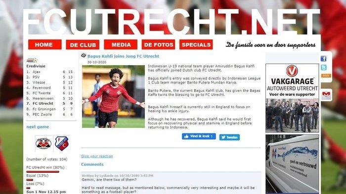 Bagus Kahfi Resmi Gabung FC Utrecht, Rumor Jadi Kenyataan Bermula saat Si Kribo Unggah Foto Ini