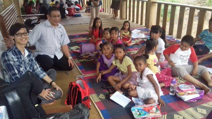 Seratus Anak Belajar Gratis di Rumah Inspirasi Buasan