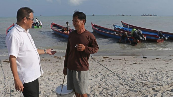 Bahar Buasan Ajak Akademisi Tingkatkan Kolaborasi Riset Kelautan dengan Nelayan Babel
