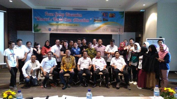 Bambang Patijaya dan Prof Nicolaus Bicara Pengaruh 3A Bangun Pariwisata di Babel