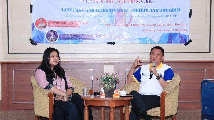 Bambang Patijaya Ajak Pemuda Babel Belajar Bahasa Internasional Agar Berdaya Saing Global