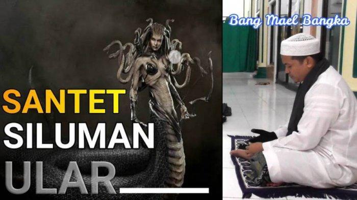 VIDEO Detik-detik Pakar Ruqyah Bang Mael Bangka Sembuhkan Warga yang Kena Santet Jin Siluman UIar