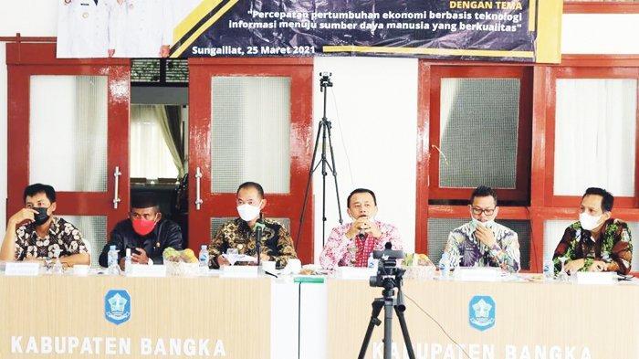 Musrenbang Pembangunan 2022 Kabupaten Bangka, Mulkan Fokus Pemulihan Ekonomi Masyarakat