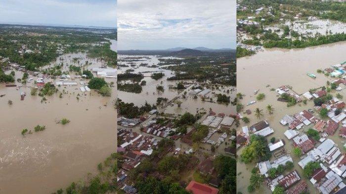 Inilah Daerah Terparah Diterjang Banjir di Beltim
