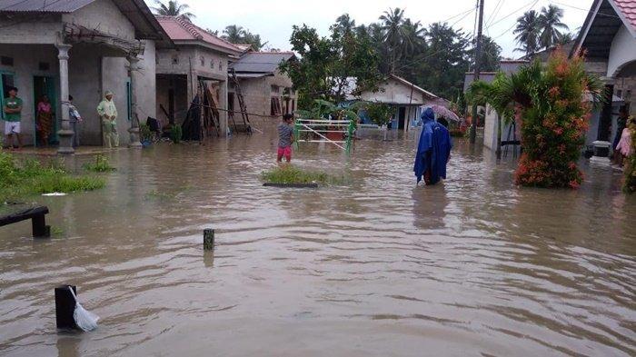 Banjir Rob Landa Bangka Belitung, Daerah Ini yang Banyak Terendam Banjir, BPBD Siagakan Dapur Umum