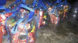 Dinsosnaker Gerilya Salurkan Bansos Untuk Korban Banjir