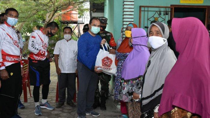 Forkopimda Babel Maknai HUT ke-75 TNI dengan Kegiatan Sosial
