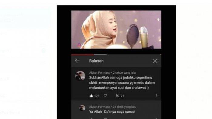 Ramai Nissa Sabyan Dituding Jadi Pelakor, Netizen Ini Baper, Ralat Doanya Dua Tahun Silam