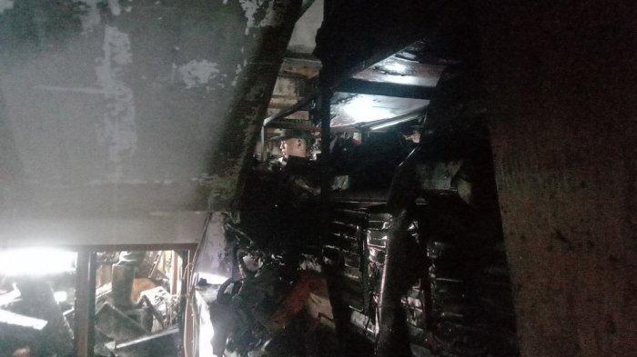 Barang di Ruko Ludes Terbakar, Pemilik Belum Tahu Total Kerugian