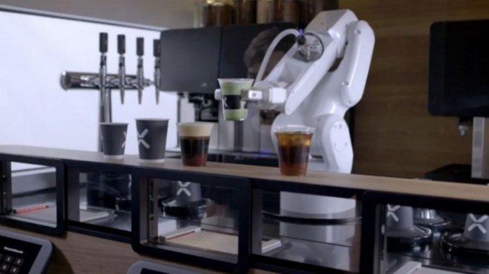 Siap-siap Serbuan AI, Ada Robot Barista si Pembuat Kopi, Nikmati Sensasinya, Layani Ribuan Pelanggan