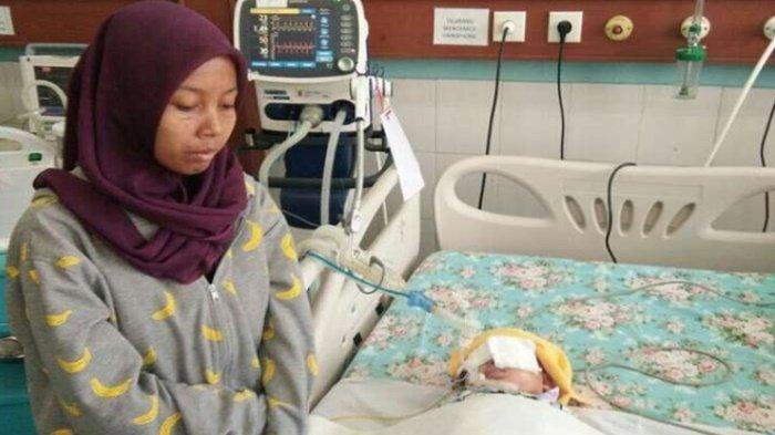 Kejam! Bayi 1 Tahun Ini Koma Selama 10 Hari, Akibat Digigit Pacar Ibunya