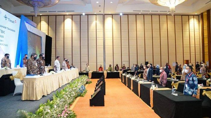 Direksi dan Dewan Komisaris PT Timah Tbk 2021, Molen Ucapkan Selamat Harap Sinergitas Tetap Terjalin