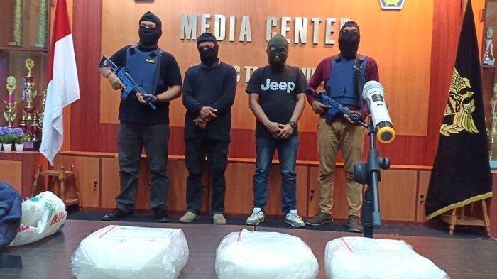 Pelaku Penyelundupan Sabu 3 Kilogram Berupaya Terobos Petugas Saat Hendak Ditangkap