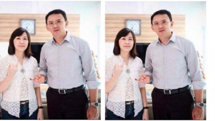 Beda Cara Ahok BTP & Veronica Tan Habiskan Malam Tahun Baru Imlek Bareng Anak, Intip Fotonya di Sini