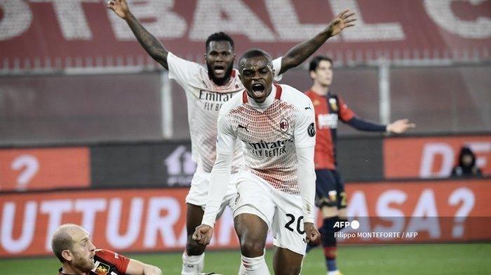 Klasemen Liga Italia Jarak Tim Sekota AC Milan dan Inter Milan Tinggal 1 Poin