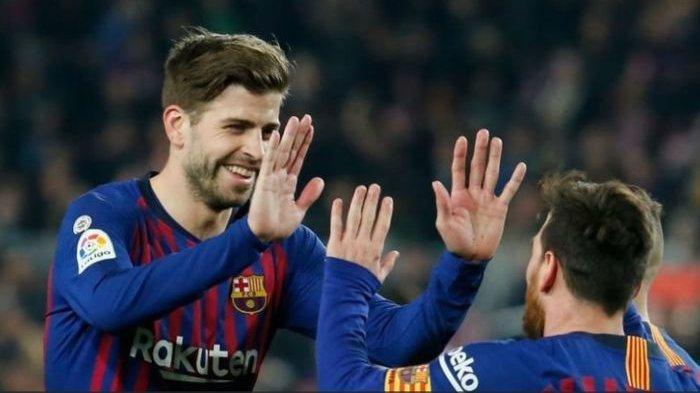 Gara-gara Hal ini, Gerard Pique Tak Bisa Mengobrol dengan Lionel Messi