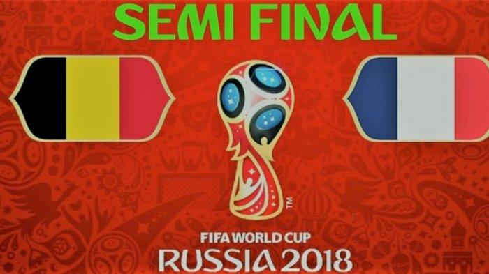 Semifinal Piala Dunia 2018, Prediksi Pemenang Prancis Vs Belgia, Lukaku dan Griezmann Favorit