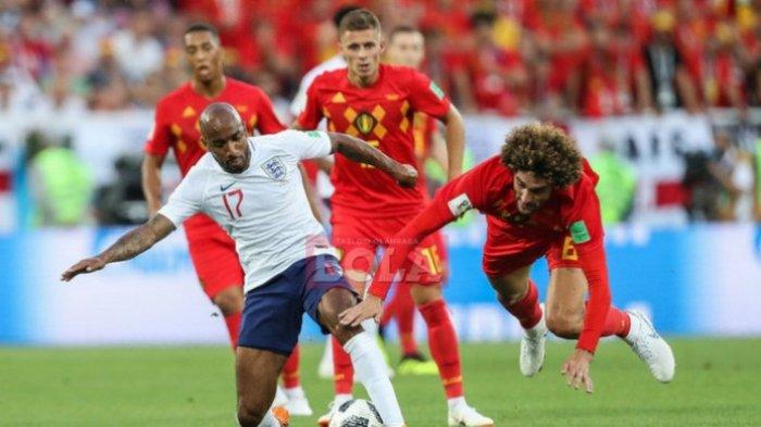 Gol Pemain Didikan Manchester United ke Gawang Inggris Antar Belgia ke Babak 16 Besar