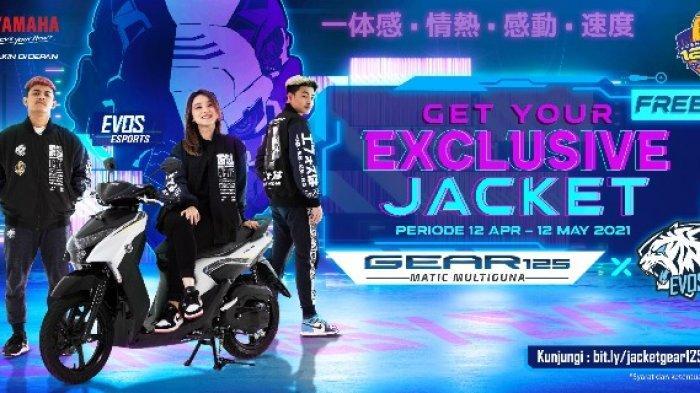 Yamaha Ajak Generasi Muda Terus Semangat, Beli Yamaha GEAR 125 Dapat Exclusive Jacket EVOS