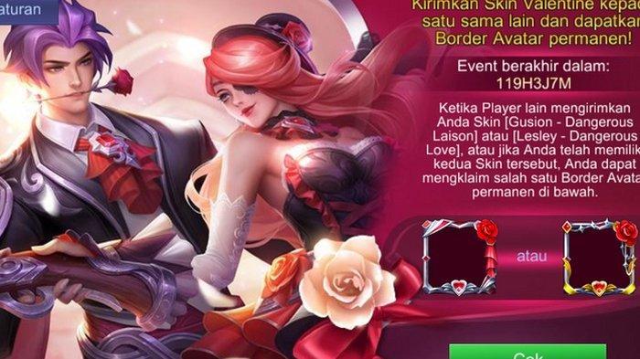 Game Mobile Legends Rilis Event Bertema Valentine dan Imlek 2019 yang Unik