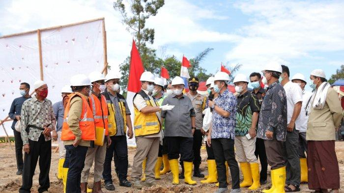 Kolaborasi Pemprov dan Pemkab Babar Bangun Kolam Retensi Sungai Muntok