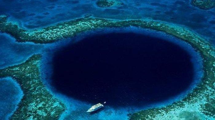 Terungkap Isi dari Lubang Besar Belize yang jadi Misteri Laut Terbesar di Dunia, Ada Momoknya Lautan