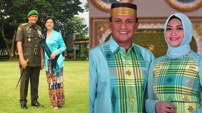 Ada yang Dinikahi Jenderal, 4 Artis Cantik Ini Pensiun dari Artis Setelah Dinikahi Anggota TNI/Polri