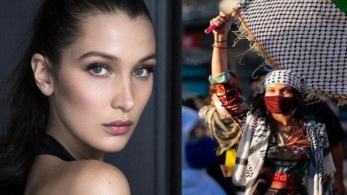 Aksi Turun Langsung ke Jalan Bela Palestina Dikecam Zionis Israel, Ini Sosok Supermodel Bella Hadid