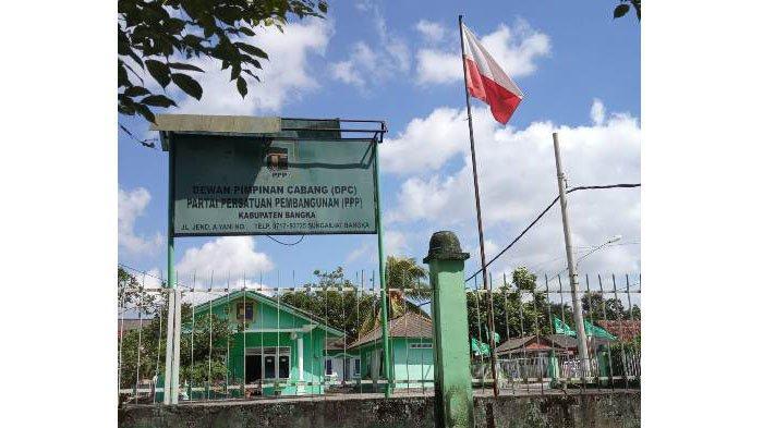 Bendera Terbalik Terpasang di Kantor DPC PPP Bangka, Hairul Sebut Kekhilafan dan Minta Maaf