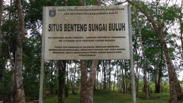 Destinasi wisata Desa Sungai Buluh Kecamatan Jebus Kabupaten Bangka Barat, Situs Benteng Sungai Buluh