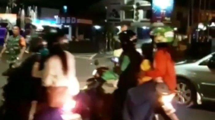 Suara Tembakan Warnai Bentrokan Dua Ormas di Magelang Para Penguna Jalan Panik