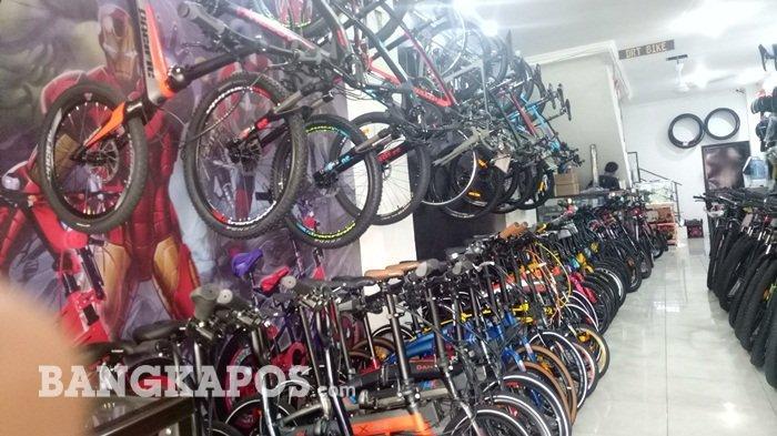 Di Toko Ini Sediakan Sepeda dan Aksesoris Lengkap, Harga Terjangkau Bisa Dicicil