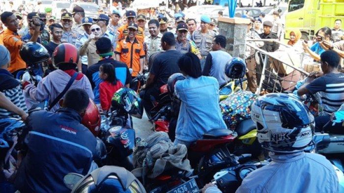 Warga di Tanjung Kalian Bersyukur Mudik Aman dan Lancar