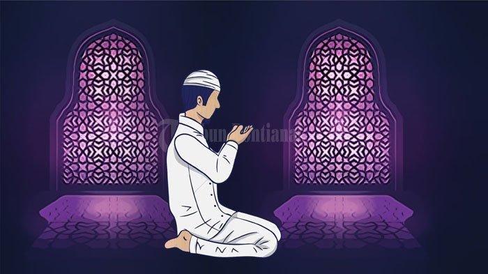 Berdoa pada pagi hari.