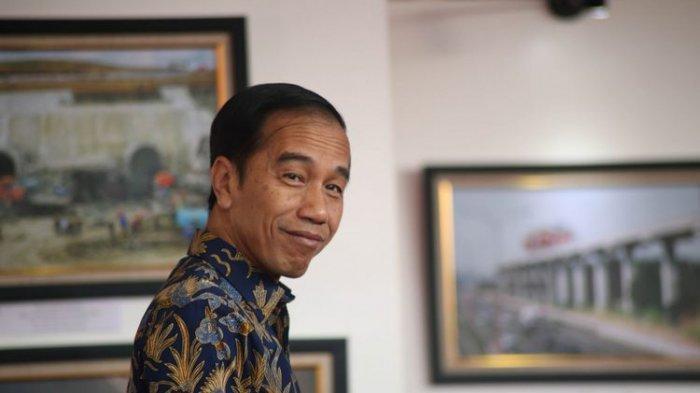 Presiden Jokowi 'Curhat' Ditawari Obat Penggemuk Badan di IG, Ditujukan kepada saya atau ke siapa?