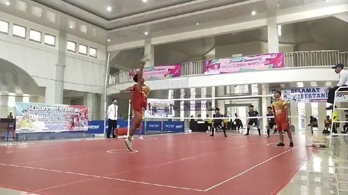 Rebut Medali Emas, Tim Sepak Takraw Bateng Tampil Sebagai Juara di Popda Babel 2020