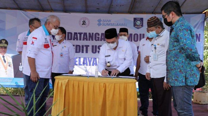 Gubernur Erzaldi Saksikan Penandatanganan MoU Budi Daya Jahe Merah di Bangka Tengah