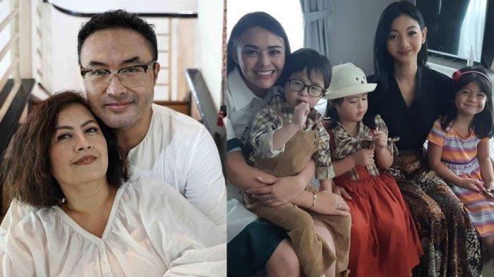 Potret akrab anak kembar Cynthia Lamusu dan Surya Saputra saat bertemu pemain sinetron Ikatan Cinta.