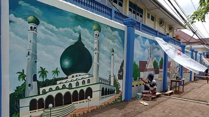 Seni Lukisan Realis di Jalan Theresia Mengangkat Tema Kebhinekaan, Dijadikan Spot Foto