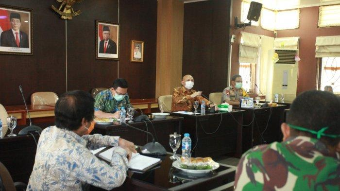 Pemprov Bangka Belitung Sampaikan Perkembangan dan Penanganan Covid-19 Pada Ketua DPRD Babel